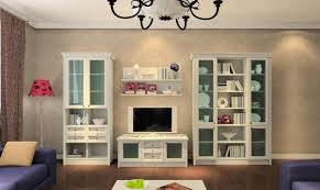 living room classic style wall tv stand and cabinets for modern