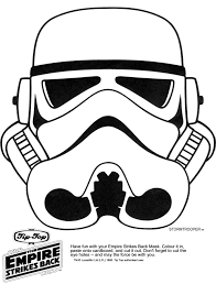 halloween templates free star wars printable masks kaplans page storm trooper party