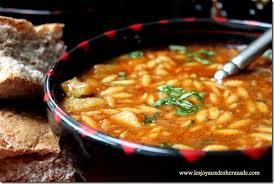 cuisine maghrebine chorba algérienne aux langues d oiseaux les joyaux de sherazade