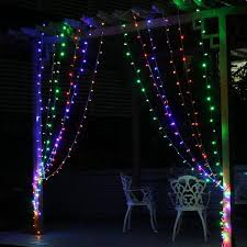 decorative led lights for homes 3mx3m 300 led fairy curtain strip icicle decorative string lights