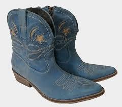 ugg jaspan sale jc blue leather ankle cowboy boots 9 spain