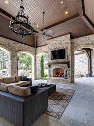 Outdoor Patio Ceiling Ideas by Best 25 Outdoor Covered Patios Ideas On Pinterest Covered