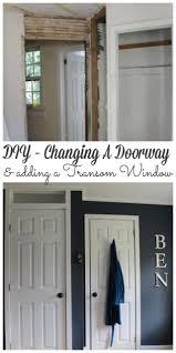 Transom Window Above Door Bennett U0027s Room Part Ii Changing The Doorway Lehman Lane
