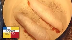 comment cuisiner du carrelet recette filets de carrelet à la mousse de tomate en barbouille