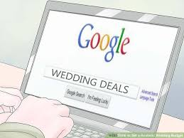 wedding deals how to set a realistic wedding budget 11 steps with pictures