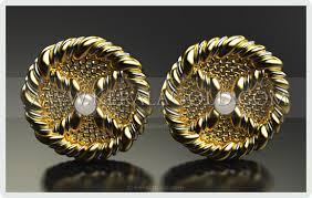 kerala earrings kerala gold jewellery design earring 2