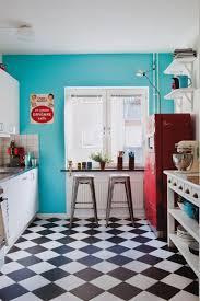 carrelage damier cuisine conseils déco adopter le carrelage damier noir et blanc