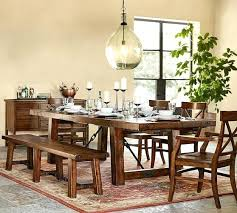 dining table with bench seats they needed more space in their