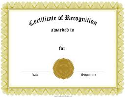 sle certificate of recognition template awards template word free numbered raffle ticket template