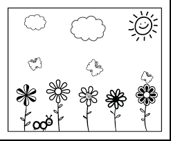 printable spring flowers pictures coloured superb coloring pages