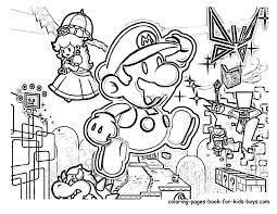 coloring pages mario super mario bros coloring pages with
