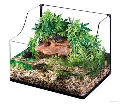 exo terra turtle terrarium medium aquatic habitat