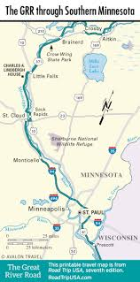 Mn State Park Map by The Great River Road Through Minnesota Road Trip Usa
