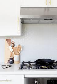 white kitchen cabinets with hexagon backsplash 57 best kitchen backsplash ideas for 2021