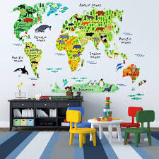 Animal World Map by 20 Birthday Gifts For Boys Will Make Him Super Happy You Must Know