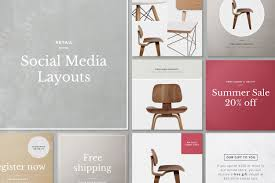 instagram layout vector illustrator instagram layouts beautiful templates to design your own graphics