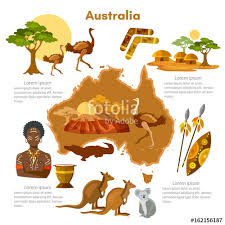 australia infographics sights culture australian traditions