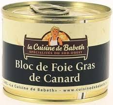la cuisine de babeth promo bloc de foie gras de canard la cuisine de babeth ean