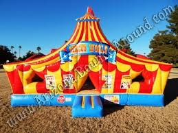circus tent rental carnival circus themed bounce house rentals carnival birthday