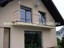 balkon edelstahlgel nder edelstahlgeländer aus polen bausatz glas für treppe balkon selber