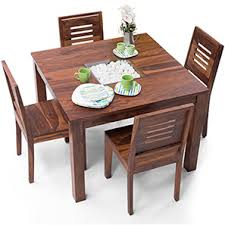 4 seater dining table with bench buy 4 seater wooden dining sets online in india urban ladder