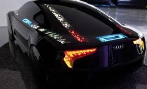 audi custom cars audi is experimenting with oled lighting on the car
