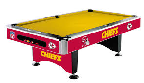 Logo Table Cloth by Kansas City Chiefs Pool Table