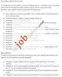 examples of cover letters for nurses 27 effective cover letter