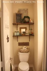 small bathroom shelf ideas bathroom tiny half bathroom with toilet design ideas also small