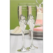 wedding goblets toasting flutes personalized toasting flutes wedding glasses