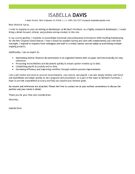 Example For Resume Cover Letter by Best Bookkeeper Cover Letter Examples Livecareer