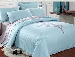 light blue girls bedding simple ba blue patterned quality 100 cotton teen bedding sets teen