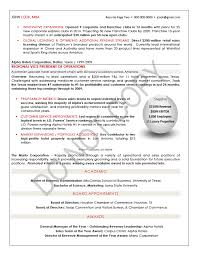 executive resume ceo tori award winning resume sample resume