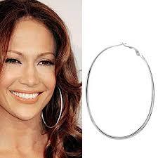 large silver hoop earrings silver large hoop earrings