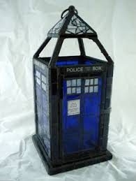 simple tardis bookcase because books let you travel to all of