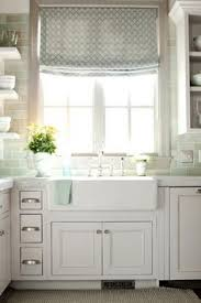 Curtains Kitchen Window by Subway Tiles Kitchens Blue White Kitchens And Blue Subway Tile