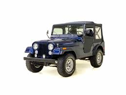 old jeep wrangler 1980 classic jeep cj5 for sale on classiccars com