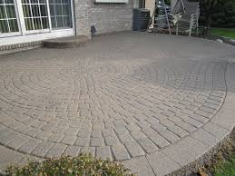 terrace awesome grey patio brick patterns ideas for your outdoor
