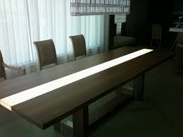 Modern Meeting Table Modern Conference Table Attractive Led For 8 Fernandotrujillo