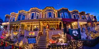 Best Outdoor Christmas Decorations by Best Christmas Light Displays In Usa Christmas Lights Decoration