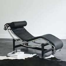 lx le corbusier lc4 style chaise longue recliner home u0026 travel