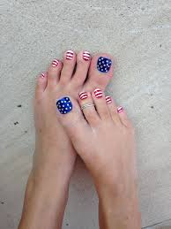 4th of july toes personal care pinterest toe pedicures and