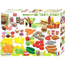 coffret cuisine enfant coffret cuisine enfant dinette cuisine ecoiffier chef coffret 100