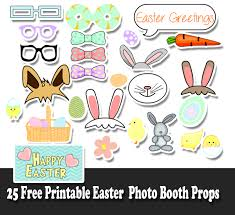 easter photo props free printable easter photo booth props jpg