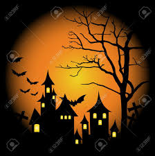 halloween haunted house background images halloween themed design halloween background with haunted house