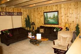 2 couches in living room the warm fire in the living room bear hug hideout