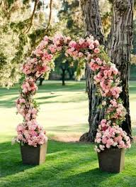 wedding arch garden 30 summer wedding arches and backdrops weddingomania