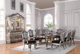 dining table steve silver gabrielle 9 piece dining room set in