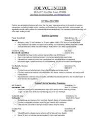 software exles for resume community service on resume munity service exles for resume