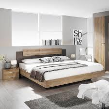 Ebay Schlafzimmer Betten Bettanlage Borba Bett Nako Eiche Sanremo Hell Lavagrau 180x200 Cm